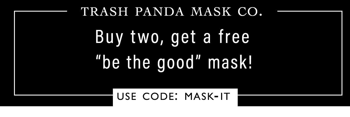 Trash Panda Mask