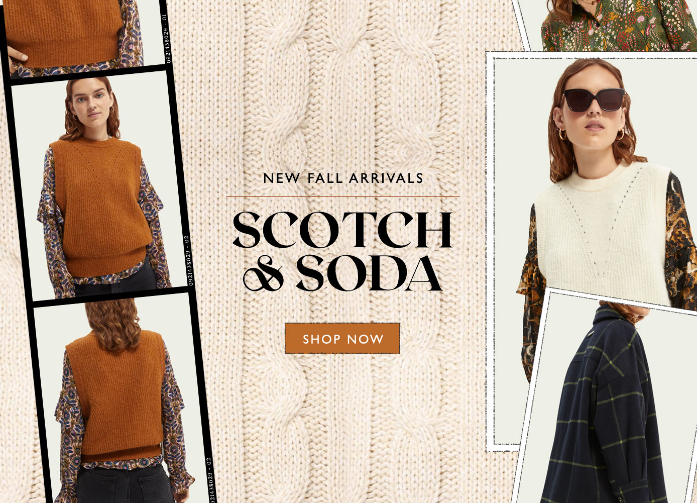 new fall arrivals from scotch and soda, shop now